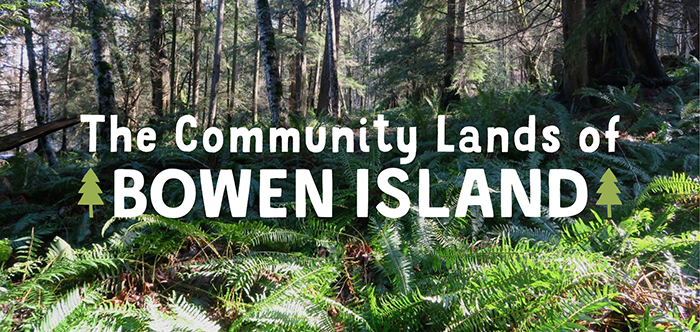 The Community Lands of Bowen Island Header Image