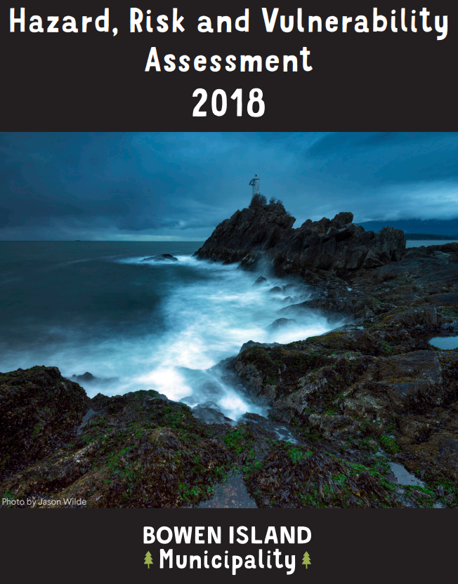 2018 Hazard, Risk and Vulnerability Assessment