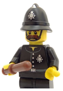 An image of a lego person police officer
